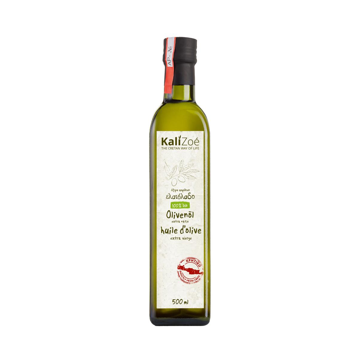 500ml – Biologisches Olivenöl extra nativ