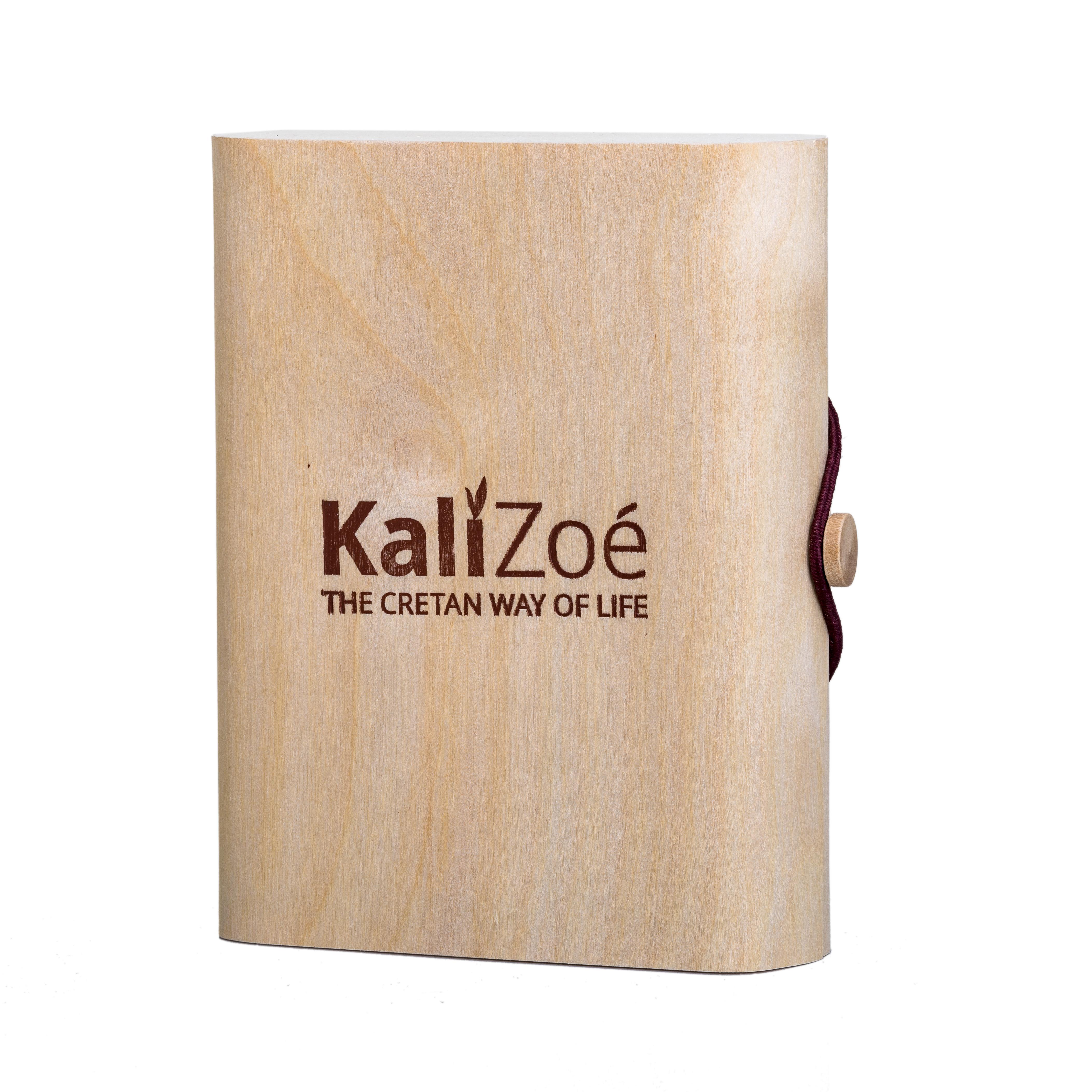 Geschenkbox aus Holz – 3 x 100ml