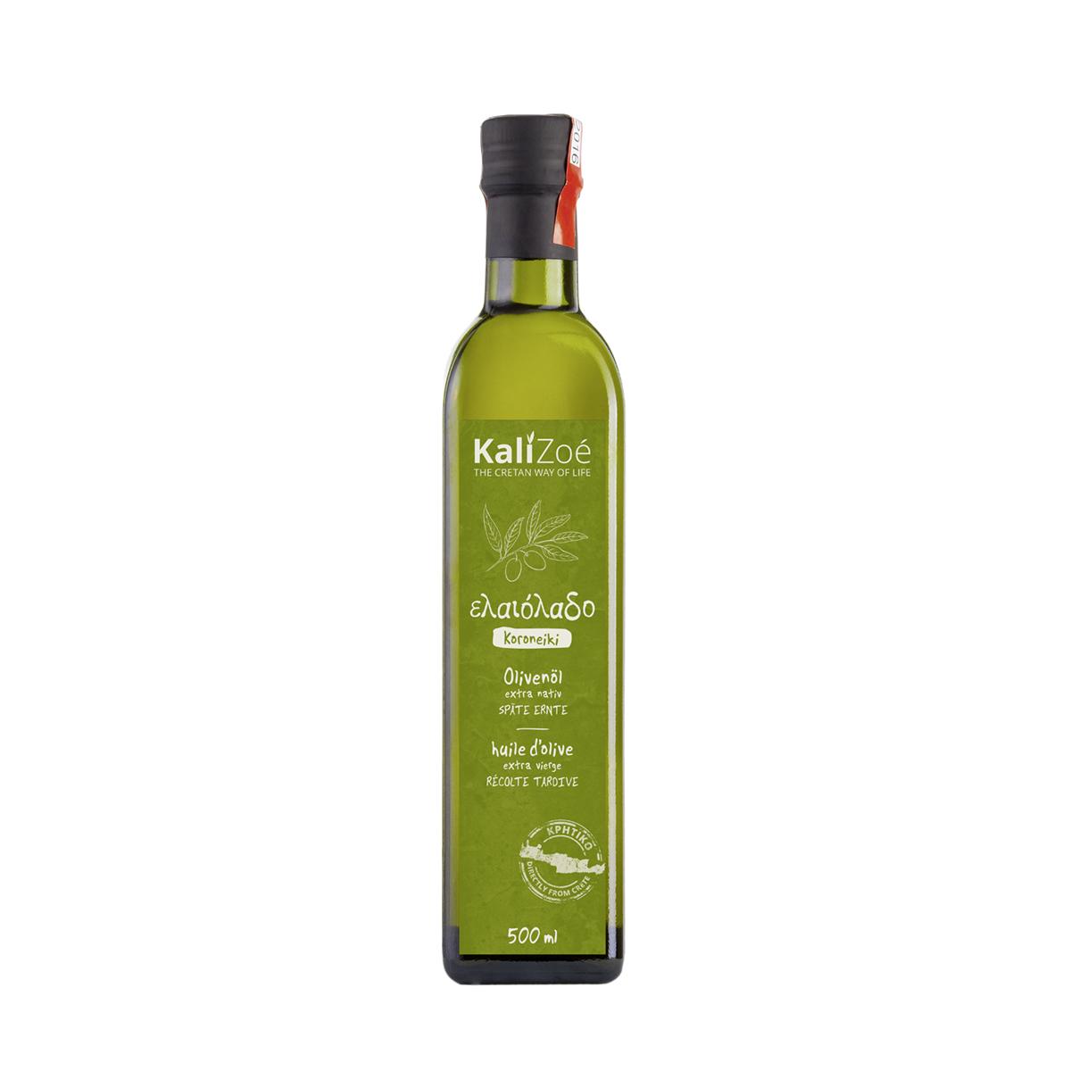 Olivenöl extra nativ – Späte Ernte – 500ml